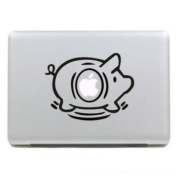 Pig mac sticker mac macbook decal mac decal vinyl by AppleParadise