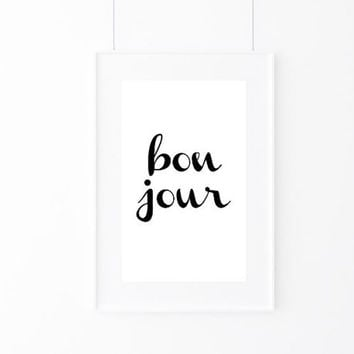 Typography Print, Paris Wall Decor, Inspirational Wall Art, Motivational Print, Inspirational Poster, Teen Gift Ideas, Home Decor - PT0093