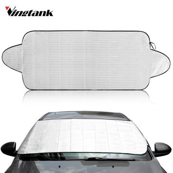 150*70cm Car Sunshade Sun shade Front Rear Window Film Windshield Visor Cover UV Protect Reflector Car-styling