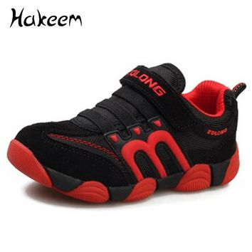 Children Casual Shoes Boys Shoes Girls Brand Kids Leather Boys Sneakers Sport Shoes Fashion Casual Children Boy Sneakers 2017