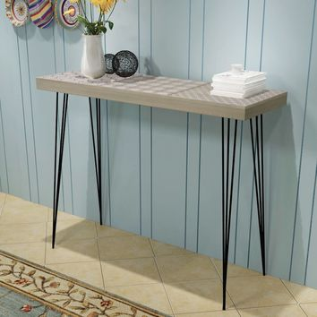 "Console Table 35.4"" x 11.8"" x 28"" Gray"
