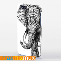 Tribal Elephant iPhone 4/4S, 5/5S, 5C Series Full Wrap Case