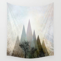 TREES IV Wall Tapestry by Pia Schneider [atelier COLOUR-VISION]