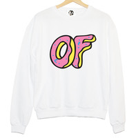 OFWGKTA TYLER the CREATOR sweatshirt jumper hipster grunge retro paris fashion tumblr swag dope cara sweet funny cool teen swag girl donuts