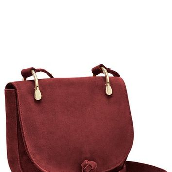 Elizabeth and James 'Zoe' Suede Saddle Bag | Nordstrom