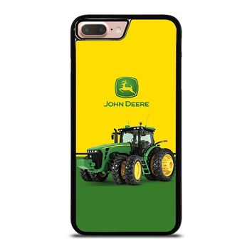 JOHN DEERE WITH TRACTOR iPhone 8 Plus Case Cover