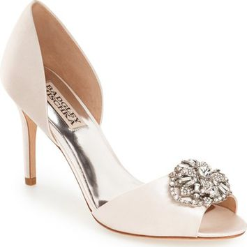 Badgley Mischka 'Dana' Crystal Embellished d'Orsay Pump (Women) | Nordstrom