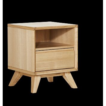 Retro Bedside Table (1 Drawer)