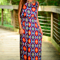Hot Lava Maxi, Nvy/Red