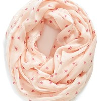 Women's Jules Smith Star Print Infinity Scarf