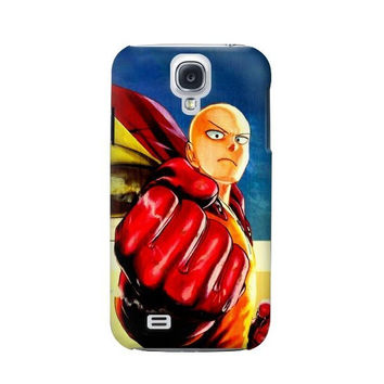 P2424 Saitama One Punch Man Phone Case For Samsung Galaxy S4