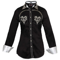 Roar Women's Reining Shirt Black