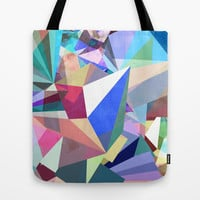 Colorflash 8 Tote Bag by Mareike Böhmer Graphics