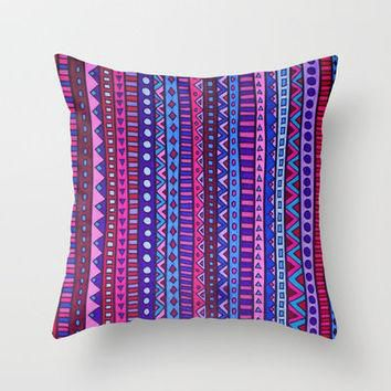 Boys and Girls Throw Pillow by Erin Jordan | Society6