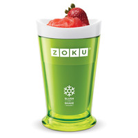 Zoku, Slush & Shake Maker, Green, Food Storage Containers