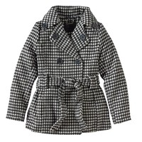 J2 by Jou Jou Houndstooth Peacoat - Girls