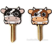 Cow Keycaps Key Covers