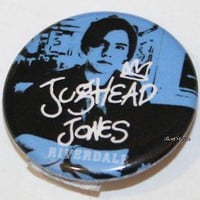 "Licensed cool CW RIVERDALE High Jughead Jones Graffiti 1 1/4"" Button Pin Back Pinback License"