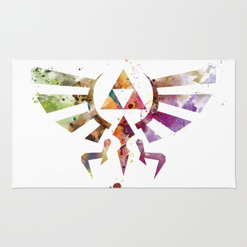 Zelda Rug by monnprint