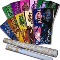 Juicy Jays Flavored Rolling Paper Variety Pack (12 Pack) + Beamer Smoke Sticker