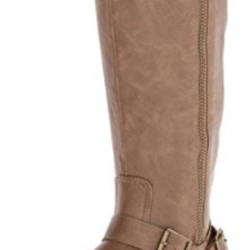 Rampage Women's Ilyssa Riding Boot,Taupe,6.5 M US