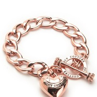 Banner Heart Starter Bracelet by Juicy Couture, O/S