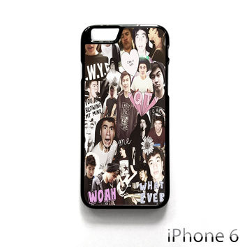 Calum Hood Collage for Iphone 4/4S Iphone 5/5S/5C Iphone 6/6S/6S Plus/6 Plus Phone case