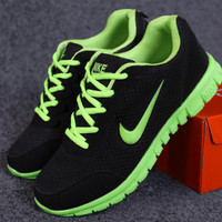 """NIKE"" Ms. casual shoes men breathable mesh couple shoes lightweight wearable shoes sneakers"
