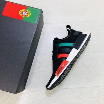Adidas NMD XR1 For 2018 FIFA World Cup Portugal Boost Running Shoes - Sale