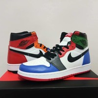 Air Jordan 1 Retro Rainbow Sneaker Size 36 47 | Best Deal Online