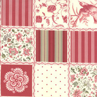 French General Favorites by MODA fabrics, fabric yardage