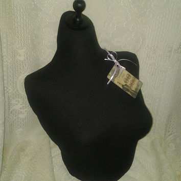 Dress form bust to the waist, jewelry making store display decor