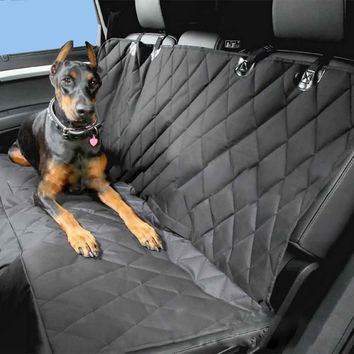 Universal Car Pet Seat Cover Waterproof Back Bench Seat Oxford Car Interior Travel Accessories Car Seat Covers Mat For Pets Dogs