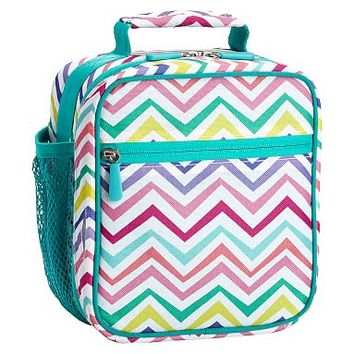 Gear-Up Multi Chevron Classic Lunch With Mesh Side Pocket