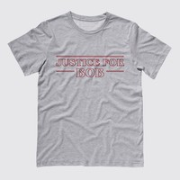 Justice For Bob Stranger Things Tee