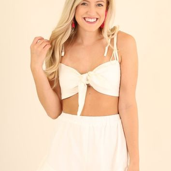 YACHT READY 2 PIECE SET - IVORY