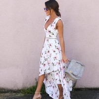 Heidi High Low Maxi Dress