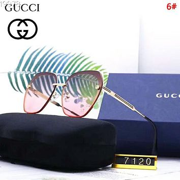 GUCCI Fashion New Polarized Sun Protection Women Men Glasses Eyeglasses 6#