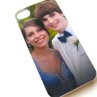 Personalized iPhone case - iPhone 4 cover - Apple iPhone 4s cell phone case  Your Favorite Photo iPhone Case