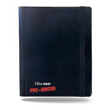 ONETOW 4-pocket Black PRO-Binder with embossed middle
