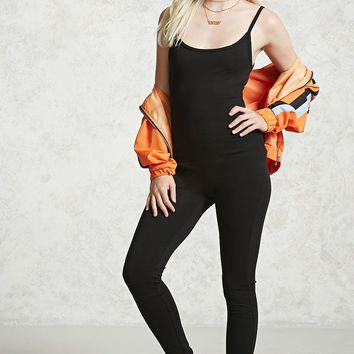 Scoop Neck Cami Jumpsuit