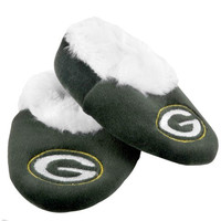 Green Bay Packers Official NFL Baby Bootie Slippers