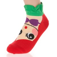 Cute Cartoon Character Socks Princess Series (Ariel)