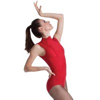 Body Wrappers Hi Neck Leotard : P520