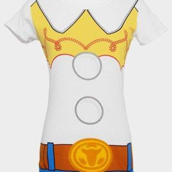 Toy Story 2 I Am Jessie Cowgirl Juniors Costume T-Shirt - White