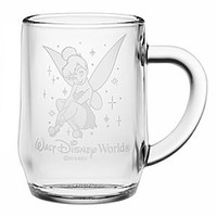 Tinker Bell Glass Mug by Arribas - Personalizable | Disney Store