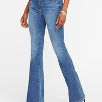 Mid-Rise Micro-Flare Jeans for Women   Old Navy