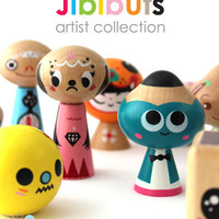 Shop | Category: Toys & Fun Stuff | Product: Jibibuts Artist Collection