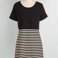 Short Length Short Sleeves A-line Pop on By Dress by ModCloth