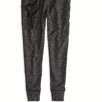 AEO Women's Soft Jogger Pant (Dark Heather Grey)